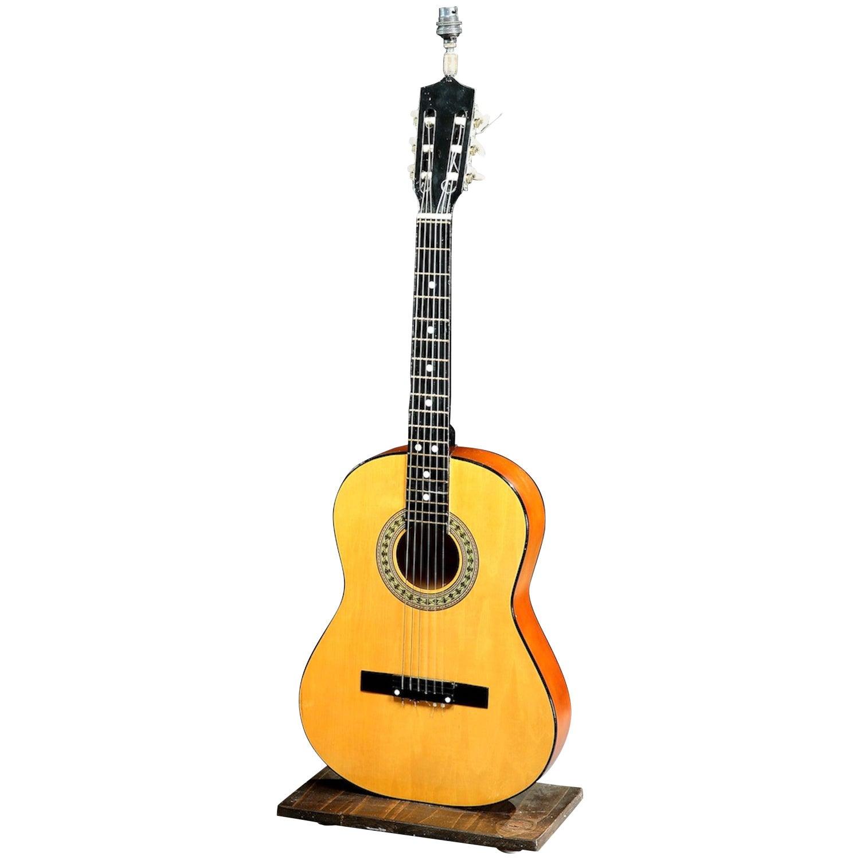 Table Lamp, Herald, Classical Acoustic Guitar
