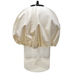 Table Lamp in Murano Glass and Fabric for VeArt, 1970s