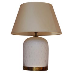Table Lamp in Murano Glass by Tommaso Barbi