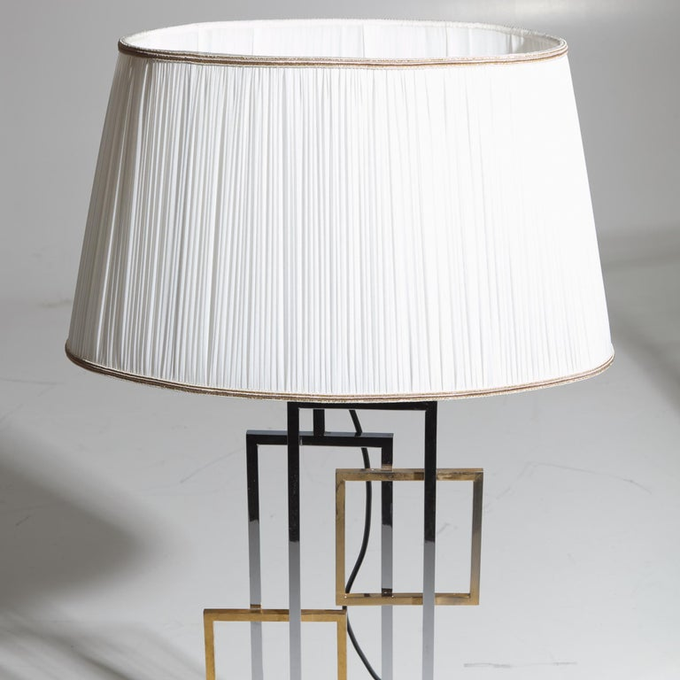 Late 20th Century Table Lamp in the Style of Romeo Rega, Italy 1970s For Sale