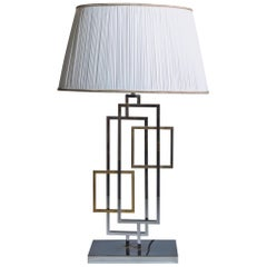 Table Lamp in the Style of Romeo Rega, Italy 1970s