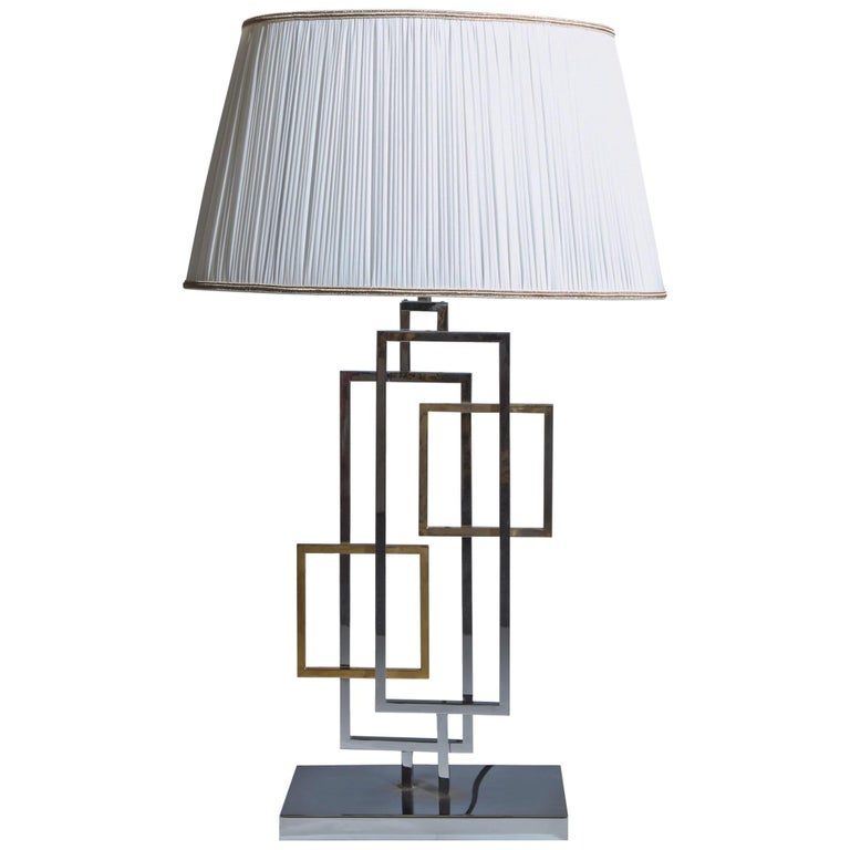 Table Lamp in the Style of Romeo Rega, Italy 1970s For Sale
