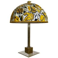 Table Lamp Jugendstil Secession Style Wiener Werkstaette, Dagobert Peche Edition