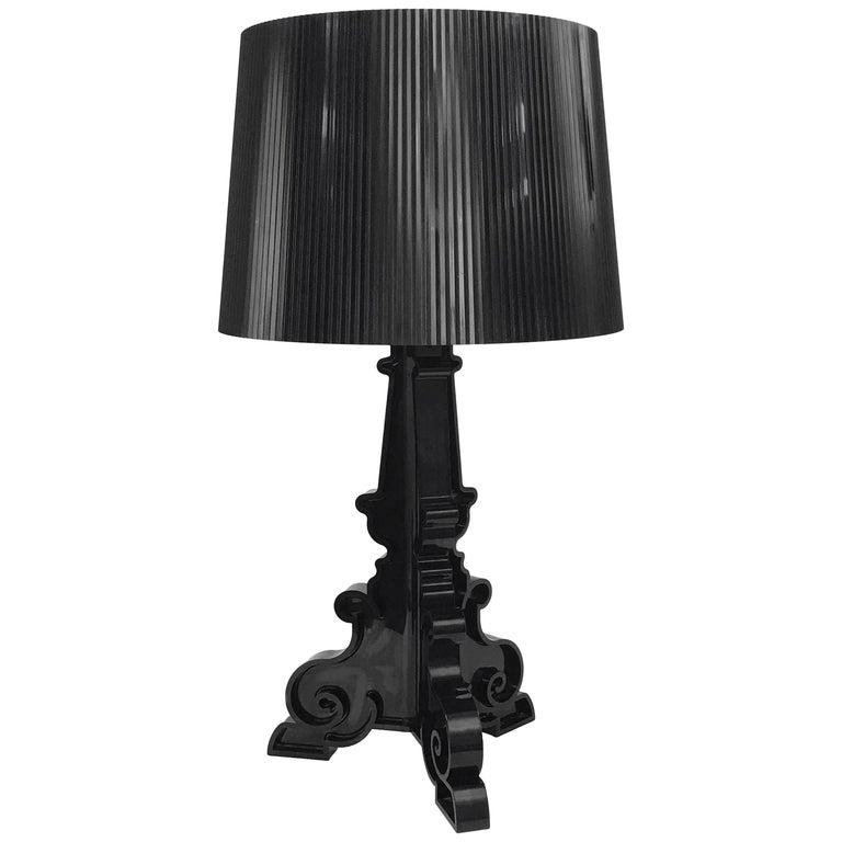 Table Lamp Kartell Bourgie Black By Ferruccio Laviani For