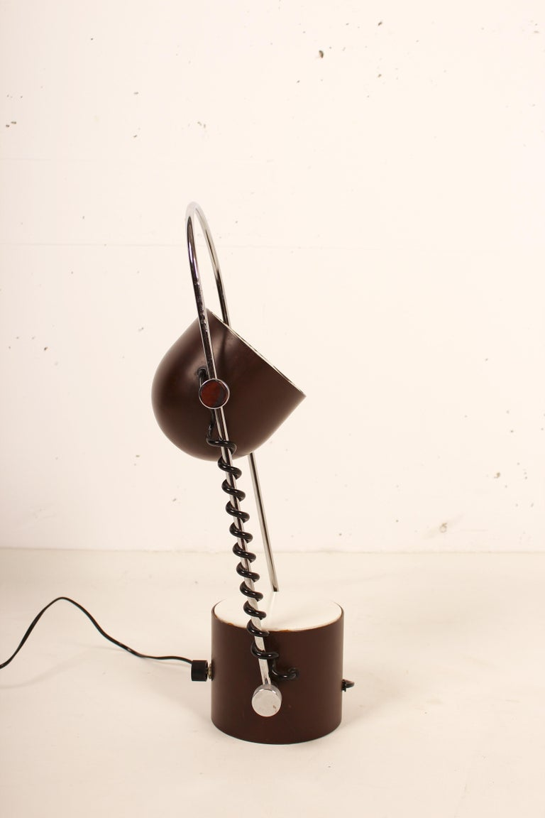 Aluminum Table Lamp Madom Design by Josep Maria Magem, 1970s For Sale