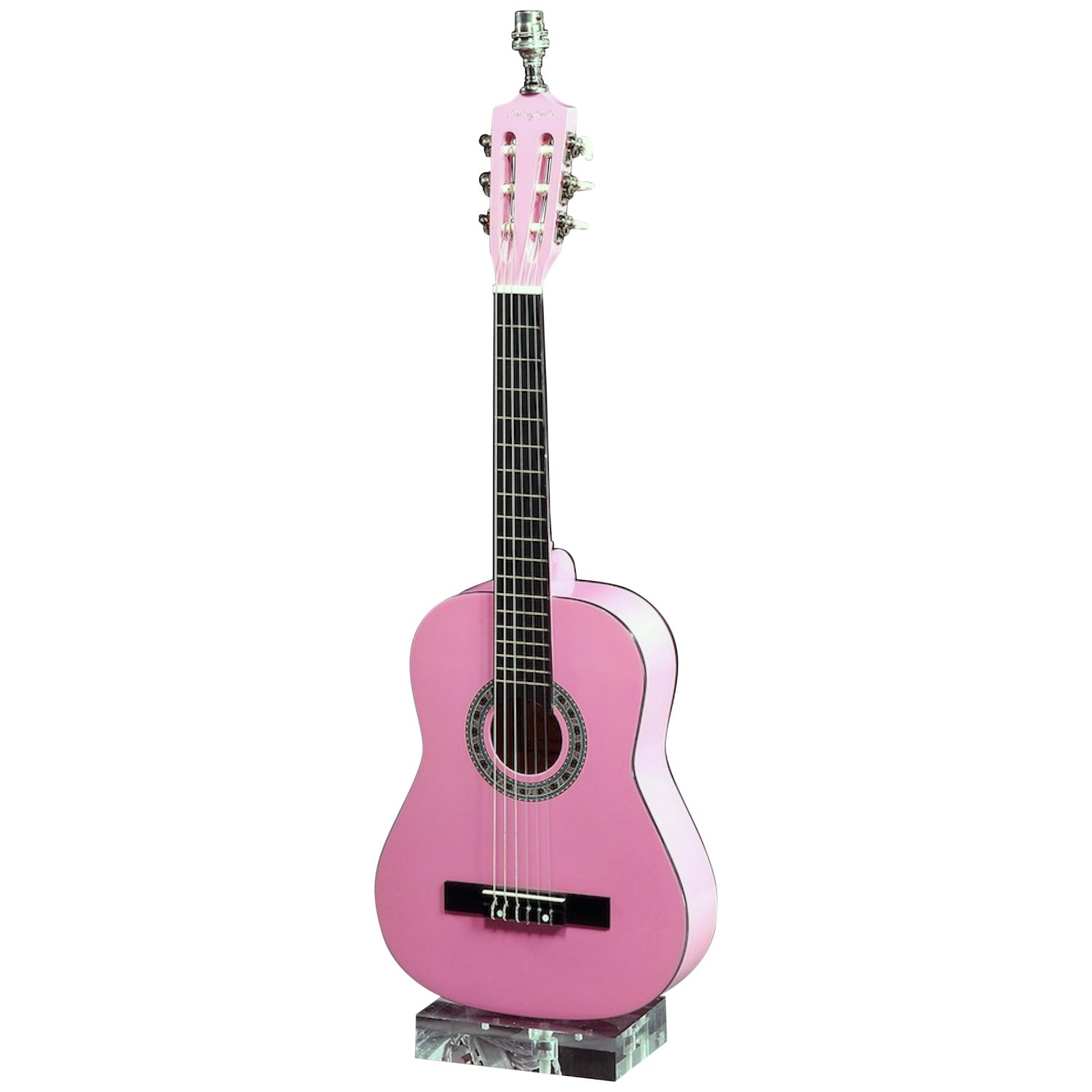 Table Lamp, Martin Smith, Classical Acoustic Guitar, Pink Rock and Roll