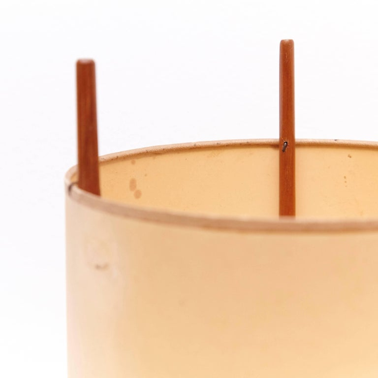 Mid-Century Modern Table Lamp Model 9 by Isamu Noguchi for Knoll, USA, 1947 For Sale