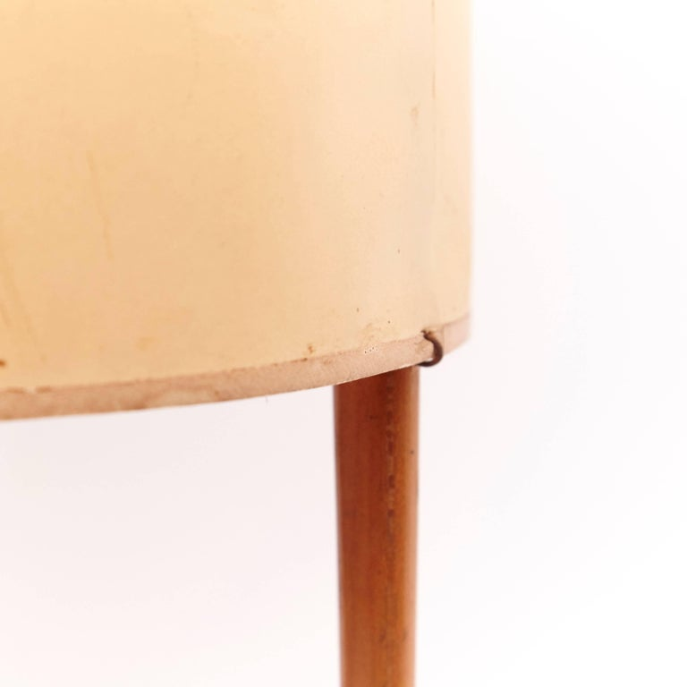 Table Lamp Model 9 by Isamu Noguchi for Knoll, USA, 1947 In Good Condition For Sale In Barcelona, Barcelona