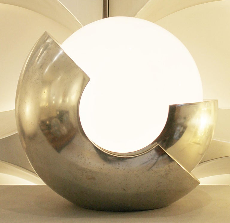 Table Lamp Model 'Roto' by Giacomo Benevelli for Missaglia, Italy, 1970s In Good Condition For Sale In Brussels, BE
