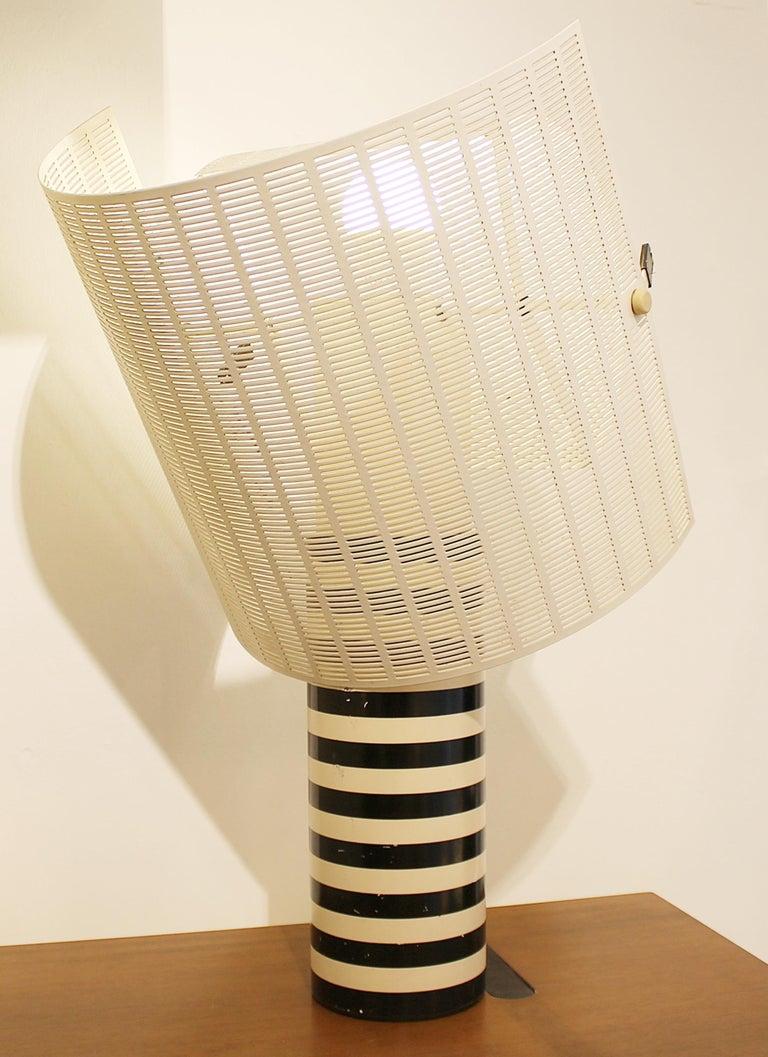 Floor lamp model 'Shogun' by Mario Botta for Artemide, Italy.
