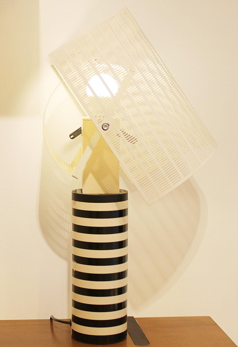 Table Lamp Model 'Shogun' by Mario Botta for Artemide, Italy In Fair Condition For Sale In Brussels, BE