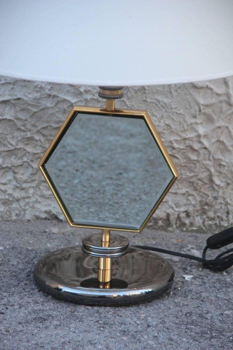 Table lamp of 1970s Minimalist and elegant design.