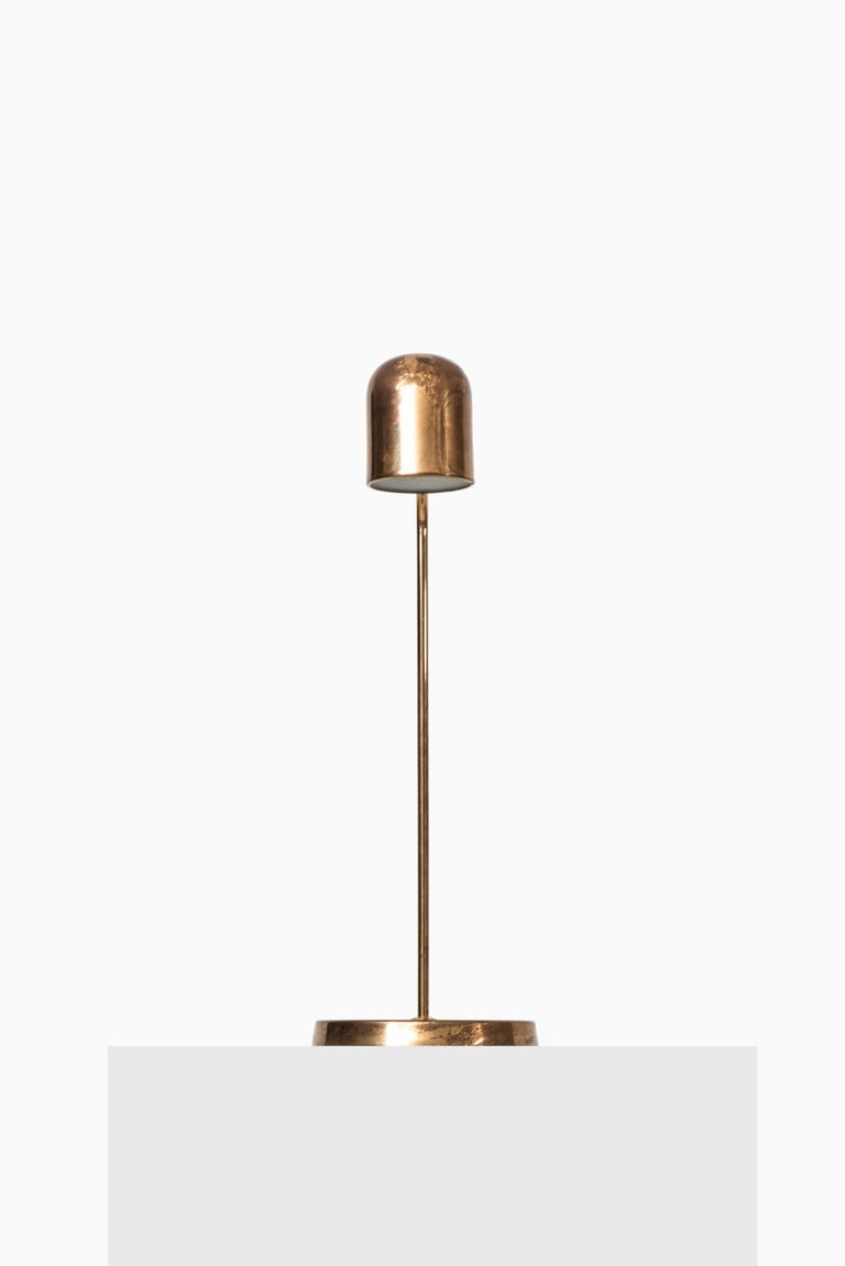 Rare table lamp by unknown designer. Produced by Bergbom in Sweden.