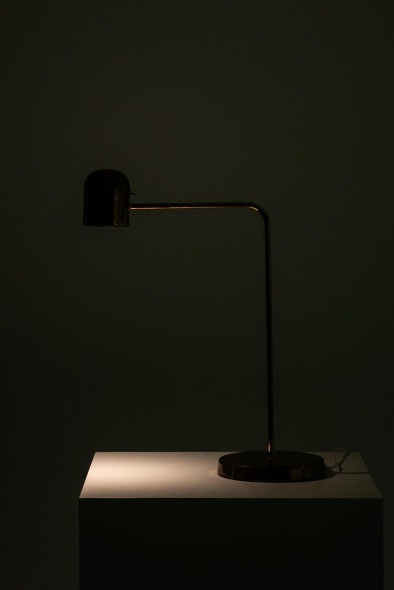 Late 20th Century Table Lamp Produced by Bergbom in Sweden For Sale