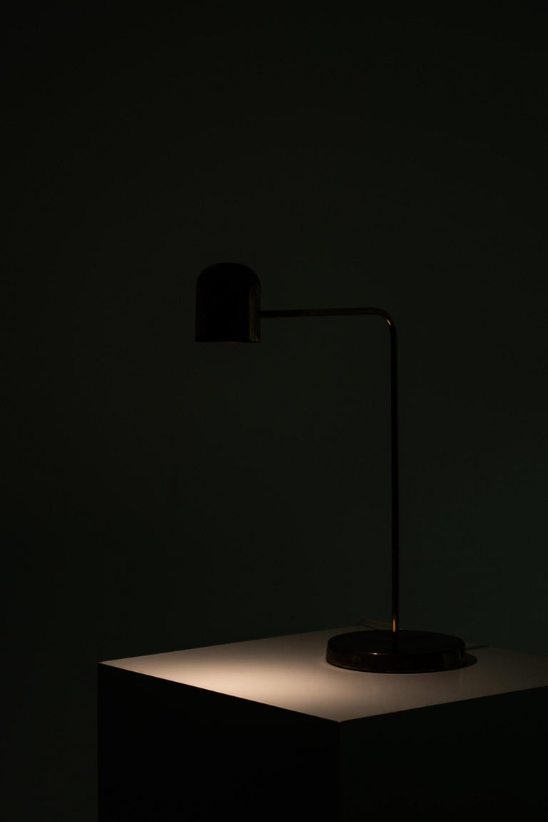 Table Lamp Produced by Bergbom in Sweden For Sale 1
