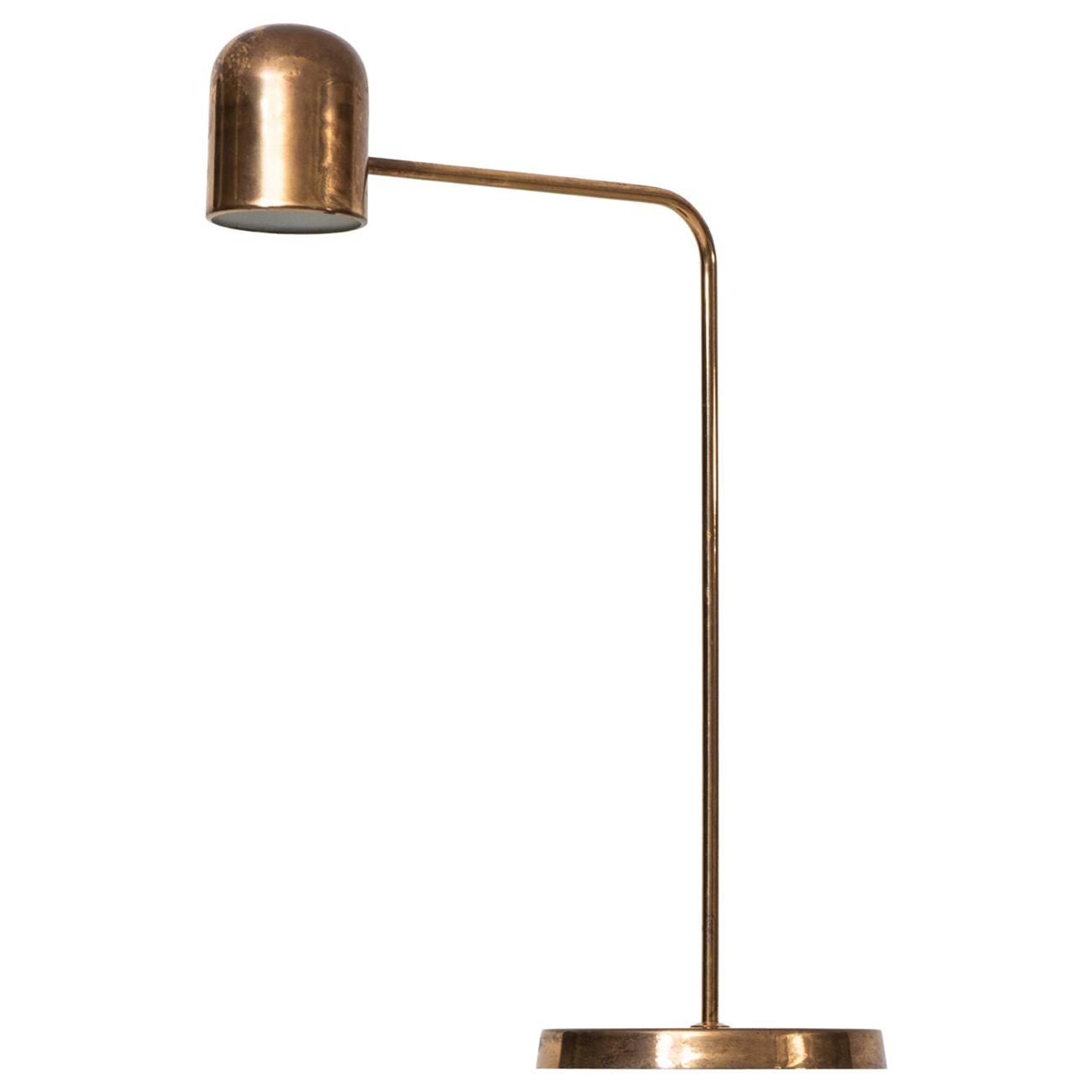 Table Lamp Produced by Bergbom in Sweden