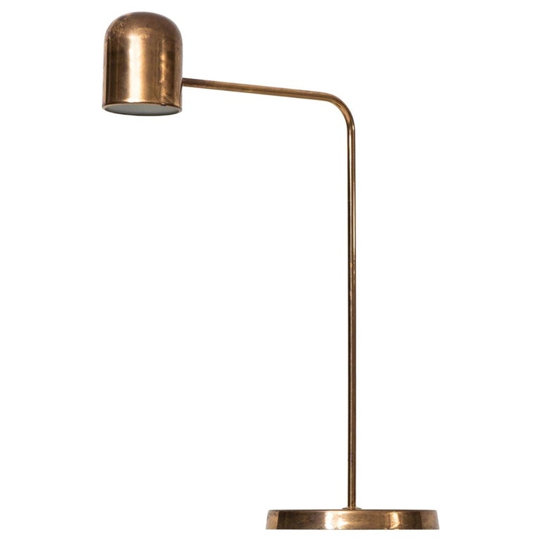 Table Lamp Produced by Bergbom in Sweden For Sale