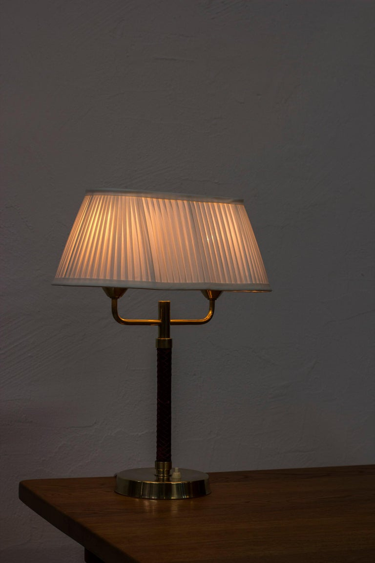 Table Lamp Produced by Karlskrona Lampfabrik in Sweden, 1940s-1950s For Sale 2