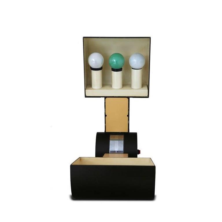 Table Lamp 'Schiacciasassi' by Gian Paolo Benedini for Tecnosalotto, Italy 1970s In Good Condition For Sale In Greding, DE