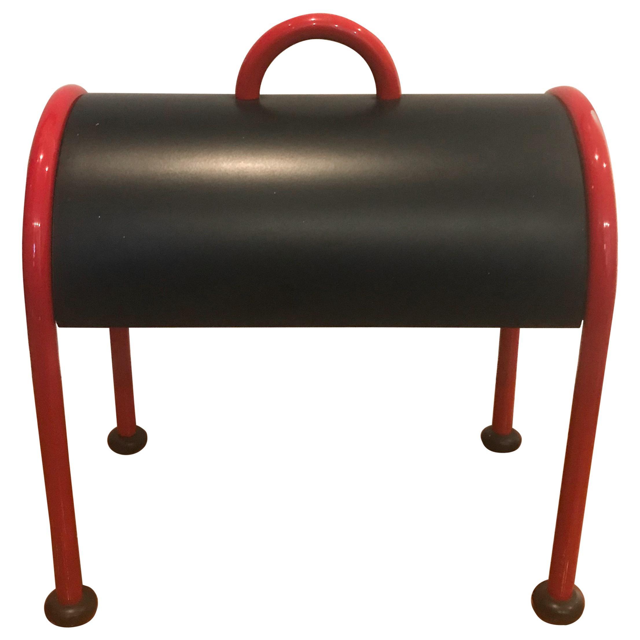 "Table Lamp ""VALIGIA"" Designed in 1977 by Ettore Sottsass for Stilnovo, Italy"