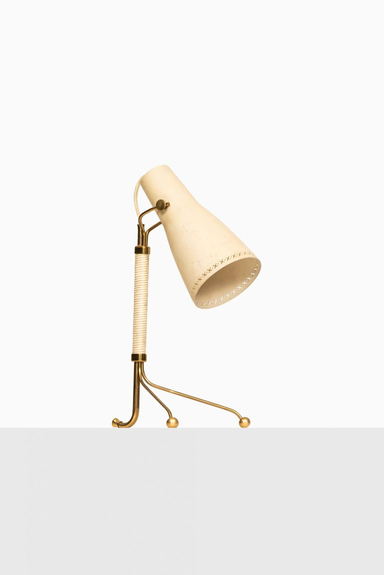 Table Lamps Attributed to Hans Bergström Produced by ASEA in Sweden In Good Condition For Sale In Malmo, SE