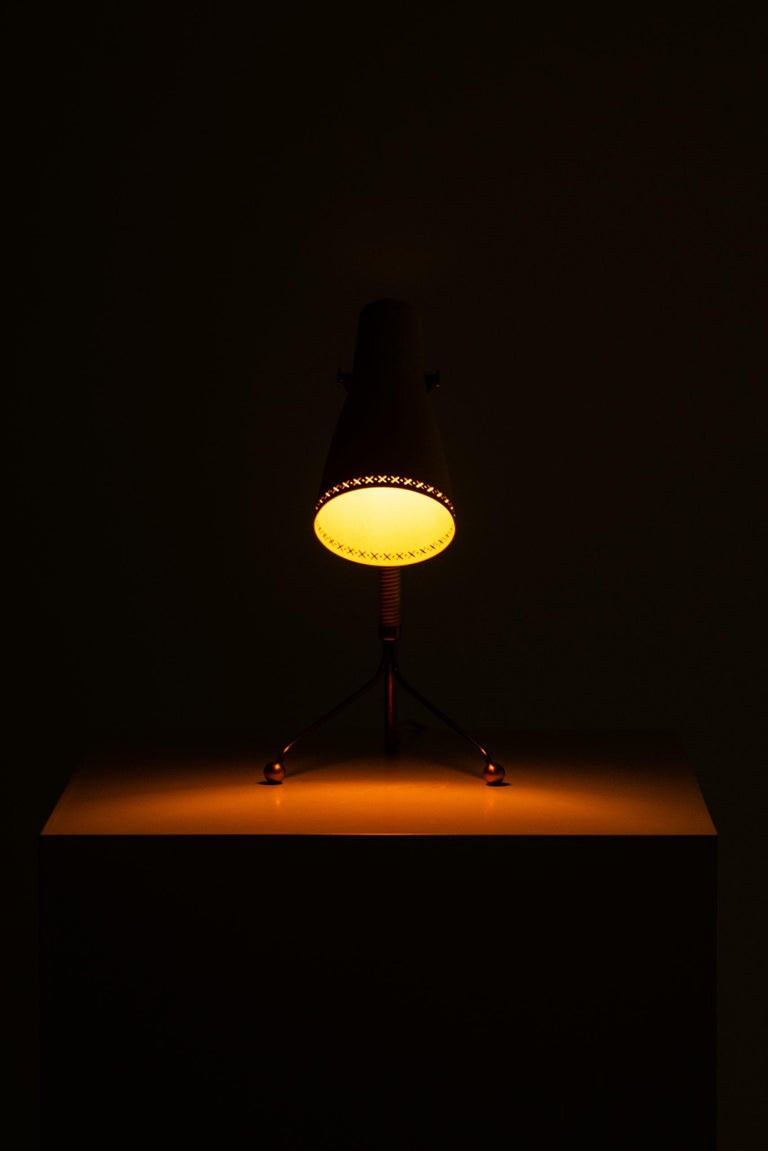 Table Lamps Attributed to Hans Bergström Produced by ASEA in Sweden For Sale 1
