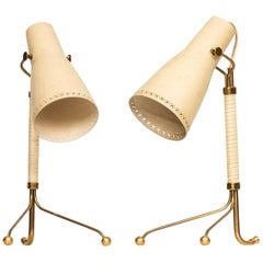 Table Lamps Attributed to Hans Bergström Produced by ASEA in Sweden