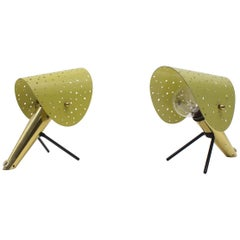 Table Lamps by Ernst Igl for Hillebrand, Set of 2, 1950s, Germany