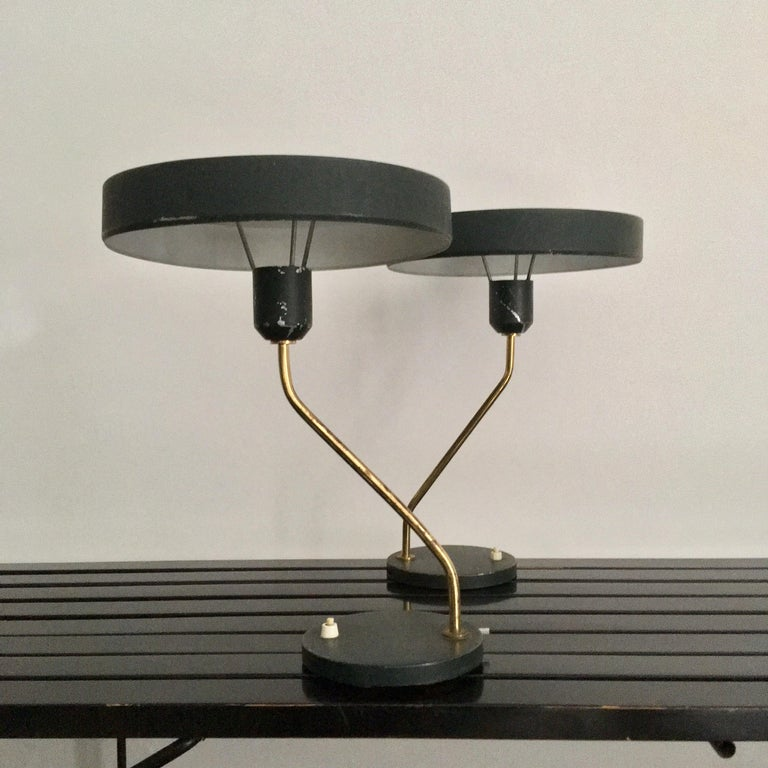 Table Lamps by Louis Kalff for Philips, 1950s For Sale 2