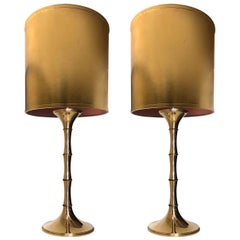 Table lamps  Model 'ML 1'. Designed by Ingo Maurer, 1968 for Design M