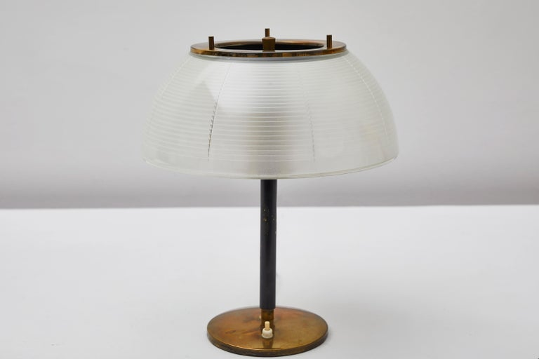 Table Lamp by Tito Agnoli for Oluce In Distressed Condition For Sale In Los Angeles, CA