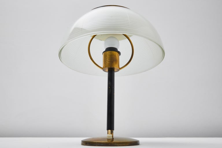 Metal Table Lamp by Tito Agnoli for Oluce For Sale