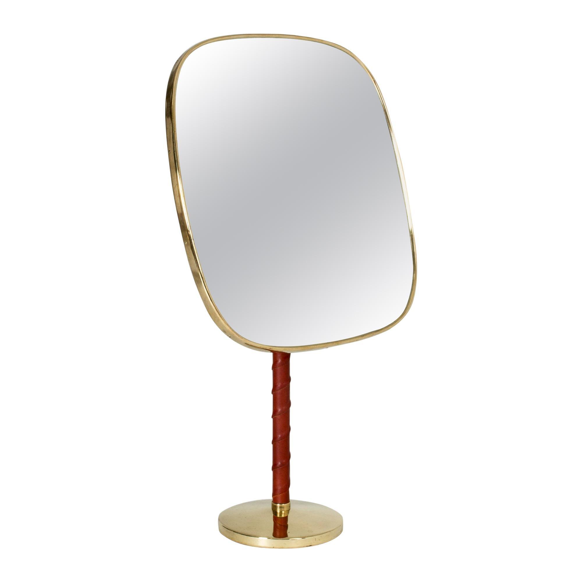 Table Mirror by David Rosén for Nordiska Kompaniet, 1960s