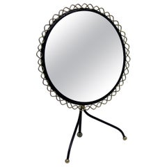 Table Mirror by Hans-Agne Jakobsson for Markaryd, 1950s