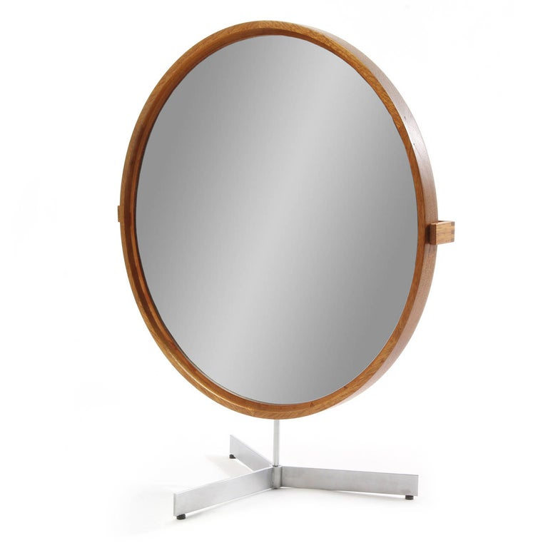 Swedish Table Mirror by Uno and Osten Kristiansson For Sale
