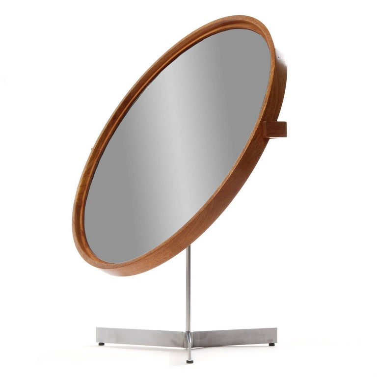 Table Mirror by Uno and Osten Kristiansson In Good Condition For Sale In New York, NY