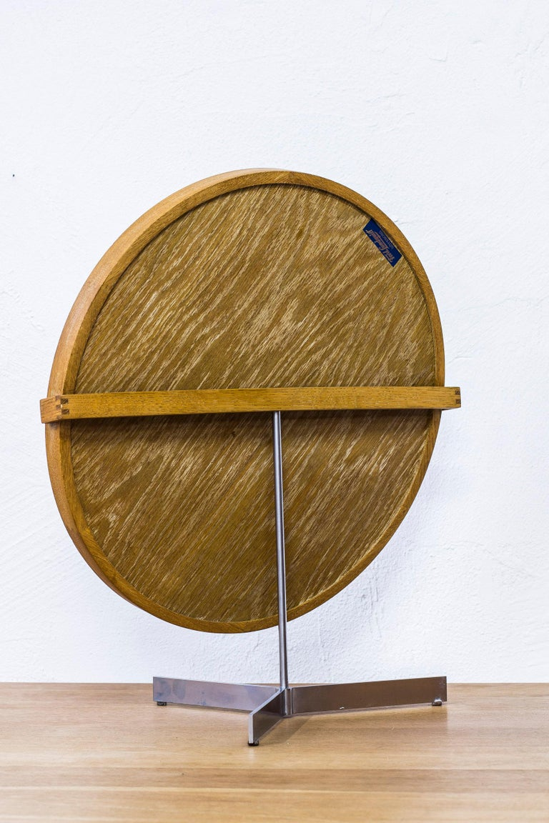 Table Mirror by Uno & Östen Kristiansson for Luxus, Sweden, 1950s For Sale 1
