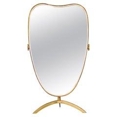 Table Mirror by Vereinigte Werkstätten München, Germany 1950s