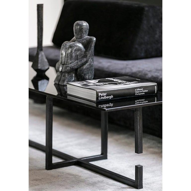 Steel Table No. 6 by JM Szymanski For Sale