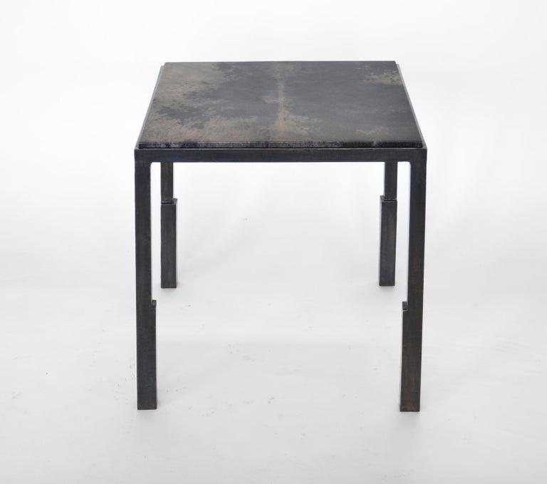 Modern Table No. 9 Parchment by JM Szymanski For Sale