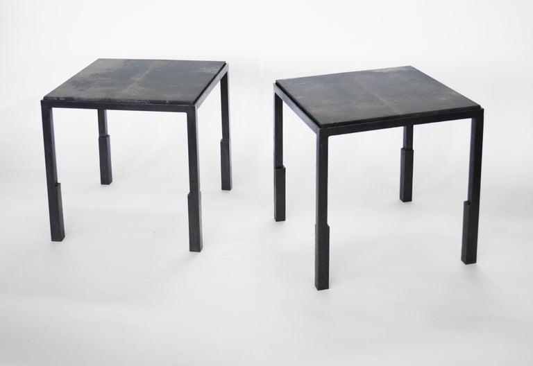 Contemporary Table No. 9 Parchment by JM Szymanski For Sale