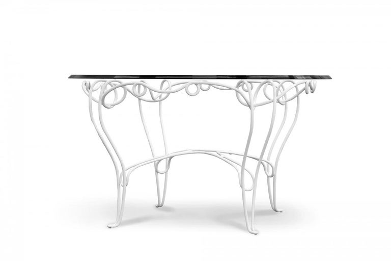 Modern Table Philo, for Outdoor, Made in Italy For Sale