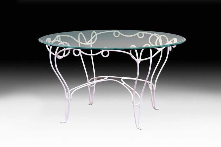 Italian Table Philo, for Outdoor, Made in Italy For Sale