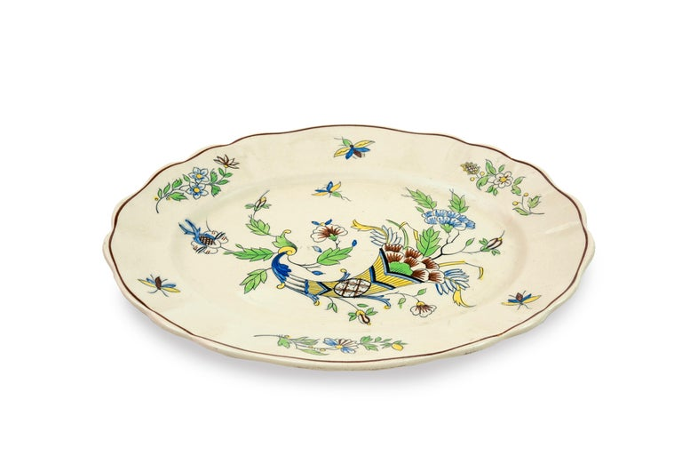 Table Service with Cornucopias, Keramis, Boch Freres, Early 20th Century For Sale 4
