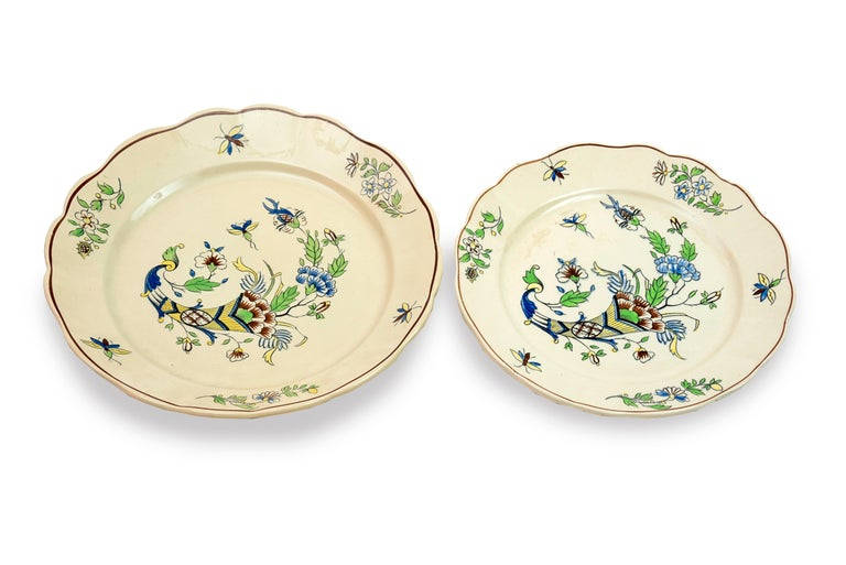 Table Service with Cornucopias, Keramis, Boch Freres, Early 20th Century For Sale 7