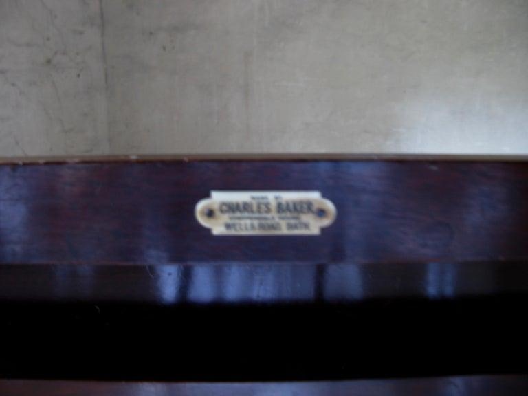 Table, Sofa Table, Coffee Table, English, 19th Century, Mahogany For Sale 1