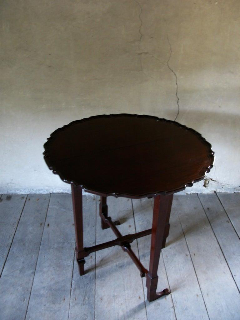 Table, Sofa Table, Coffee Table, English, 19th Century, Mahogany For Sale 2
