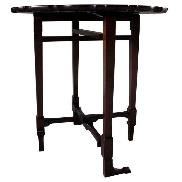 Table, Sofa Table, Coffee Table, English, 19th Century, Mahogany For Sale