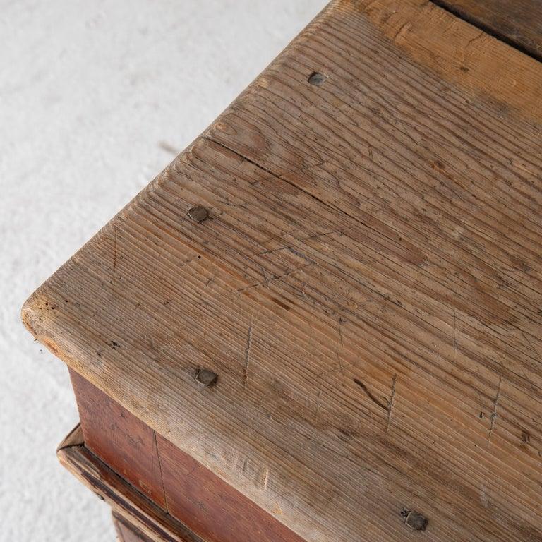 Table Swedish Gustavian 18th Century Original Paint Sweden For Sale 2