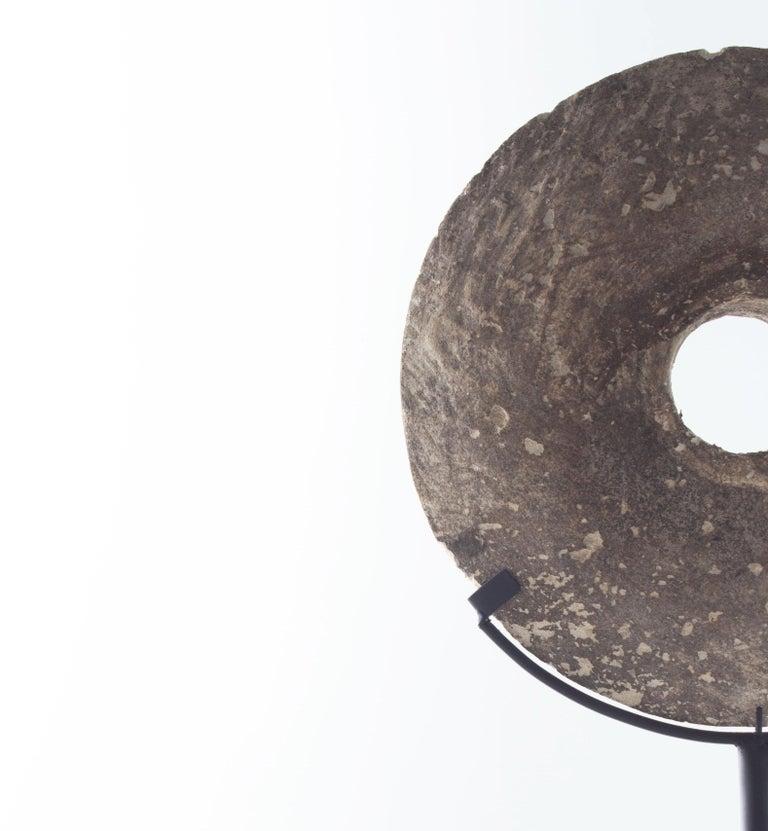 Tabletop replica yap stone.
